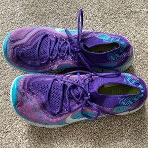 Nike Free Flyknit Atomic Purple